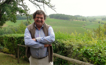 Owner of Chateau Bergerac Laurent de Bosredon