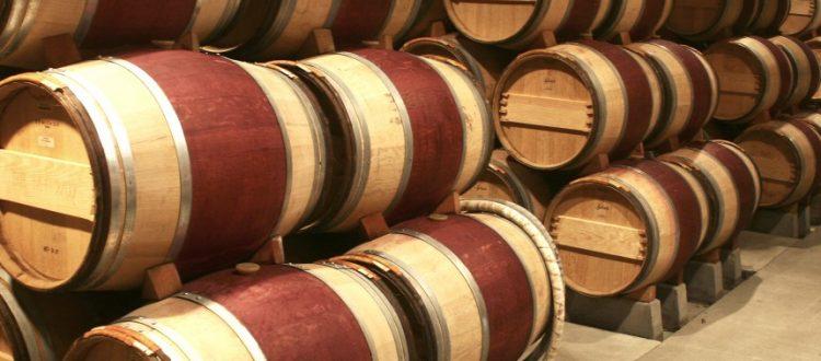 cellar barrels